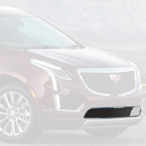 E&G 2017-2018 CADILLAC XT5 -CLASSIC BLACK ICE FINE MESH GRILLE - LOWER WITH ADAPTIVE CRUISE - 1020-B10L-17AC