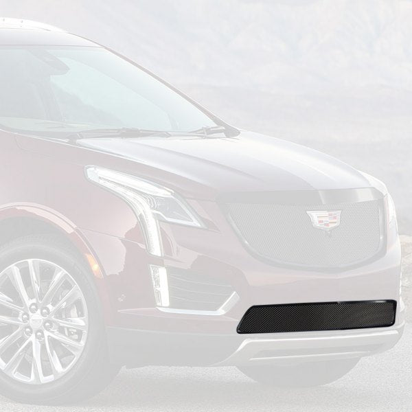 "E&G 2017-2018 CADILLAC XT5 - CLASSIC ""PiD"" FINE MESH GRILLE - LOWER W/ ADAPTIVE CRUISE - 1020-010L-17ACB"