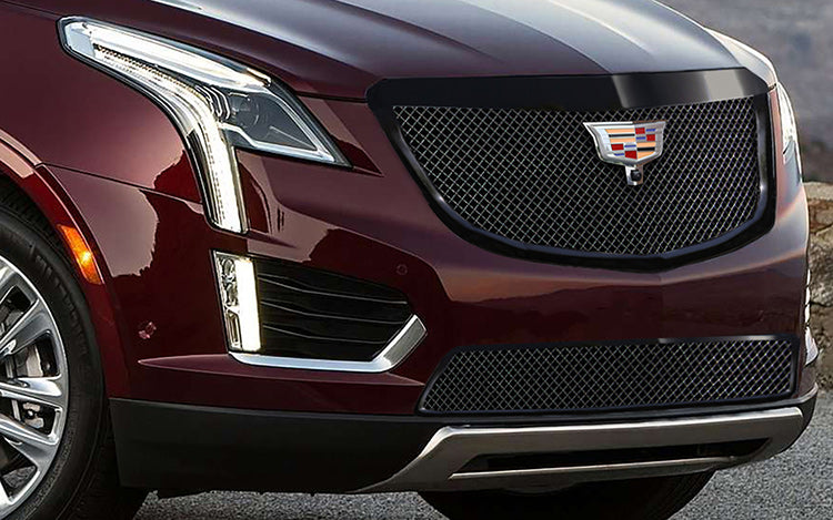 "E&G 2017-2018 CADILLAC XT5 -CLASSIC ""PiD"" HEAVY MESH GRILLE - LOWER W/ ADAPTIVE CRUISE - 1020-010L-17HACB"