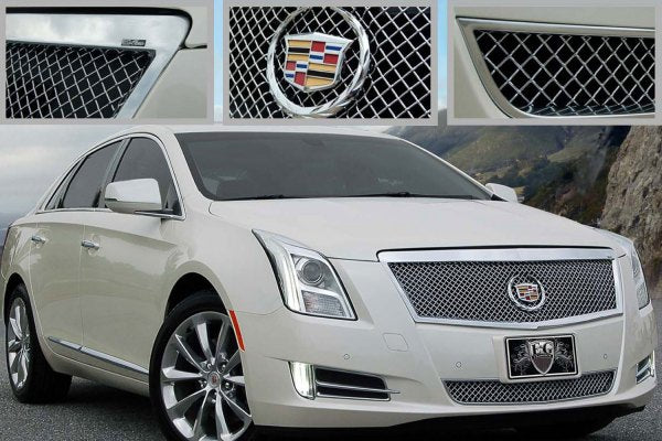 E&G 2013-2017 CADILLAC XTS - CLASSIC BLACK ICE HEAVY MESH  - LOWER ONLY - 1001-B10L-13H