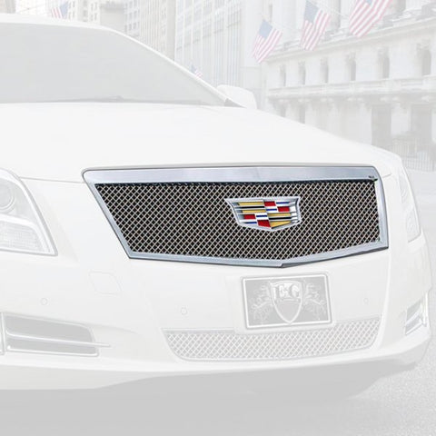 E&G 2016-2017 CADILLAC XTS - FINE MESH STYLE GRILLE - UPPER - 1001-010U-16ACC