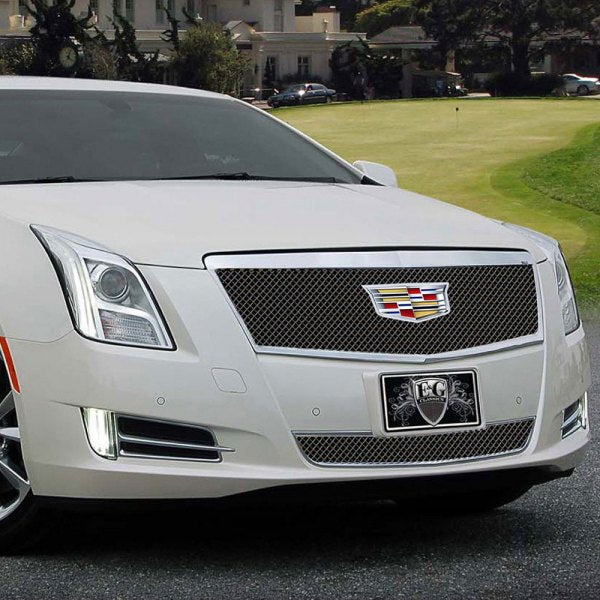 "E&G 2016-2017 CADILLAC XTS - ""PiD"" FINE MESH STYLE GRILLE - UPPER - 1001-010U-16CB"