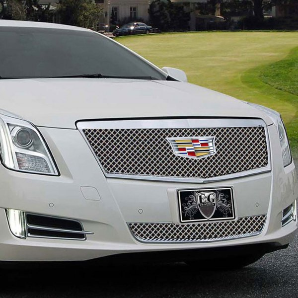 E&G 2016-2017 CADILLAC XTS - HEAVY MESH STYLE GRILLE - UPPER - 1001-010U-16HACC