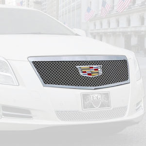 E&G 2016-2017 CADILLAC XTS - DUAL WEAVE STYLE GRILLE - UPPER -1001-010U-16DC