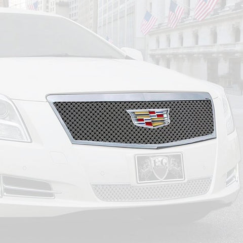 E&G 2016-2017 CADILLAC XTS - DUAL WEAVE STYLE GRILLE - UPPER -1001-010U-16DACC