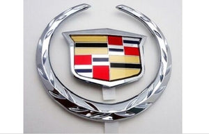 Deville DTS DHS Grille Wreath and Crest Chrome 2002-2005
