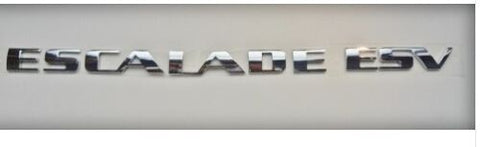 ESCALADE ESV EMBLEM CHROME 2002-2006