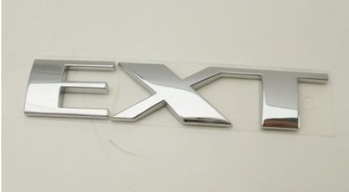 "ESCALADE CHROME ""EXT"" EMBLEM 2002-2006"