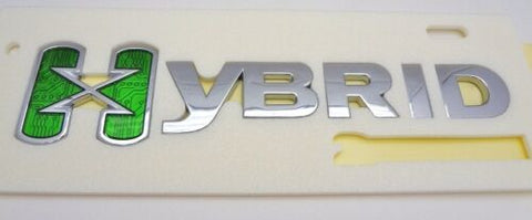 ESCALADE CHROME HYBRID X REAR EMBLEM
