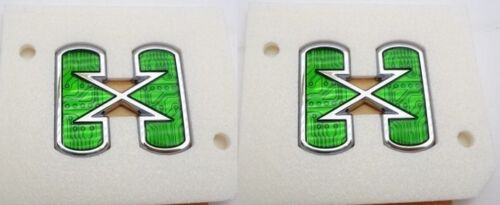 ESCALADE CHROME HYBRID X SIDE EMBLEM PAIR