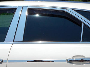 STAINLESS STEEL PILLAR TRIM 6PC FITS 2008-2013 CADILLAC CTS PP48251