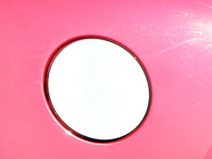 STAINLESS GAS CAP DOOR TRIM 1PC FITS 2008-2013 CADILLAC CTS GC48250