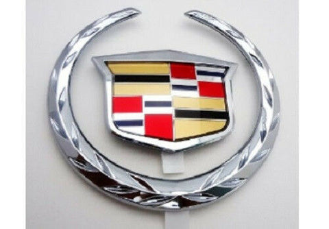 CTS Grille Wreath and Crest Chrome 2003-2007