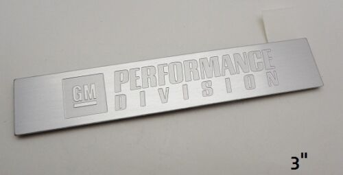 GM Performance Division Emblem Large Size