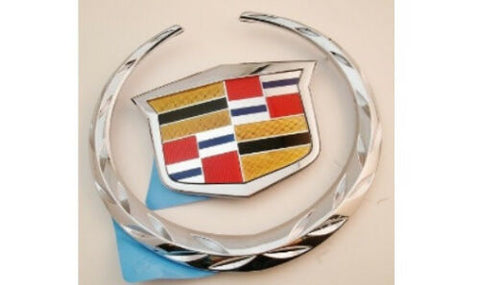CTS Grille Wreath and Crest Chrome 2008-2011