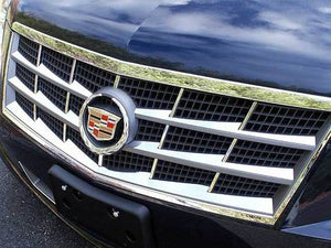 STAINLESS STEEL GRILLE ACCENT 6PC FITS 2008-2011 CADILLAC STS SG45236