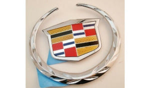 CTS V Grille Wreath and Crest Chrome 2009-2013