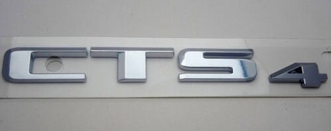 CTS 4 Coupe Emblem Chrome 2014