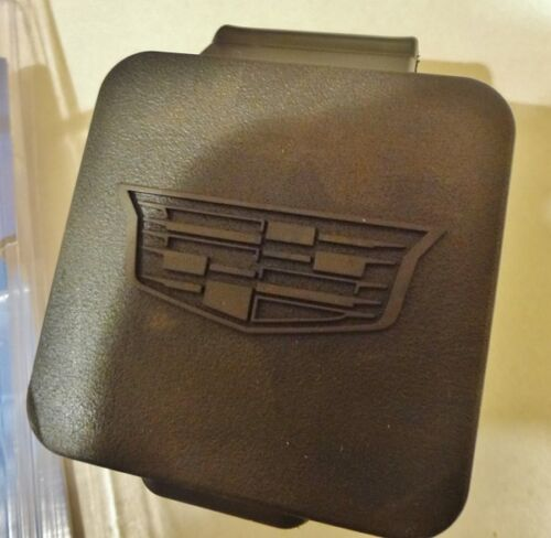 CADILLAC ESCALADE TRAILER TOW HITCH COVER W/ NEW STYLE CREST