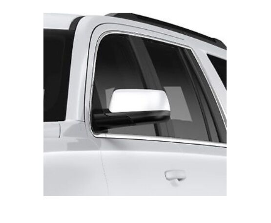 CADILLAC ESCALADE CHROME MIRROR COVERS 22913963 FACTORY GM ACCESSORY