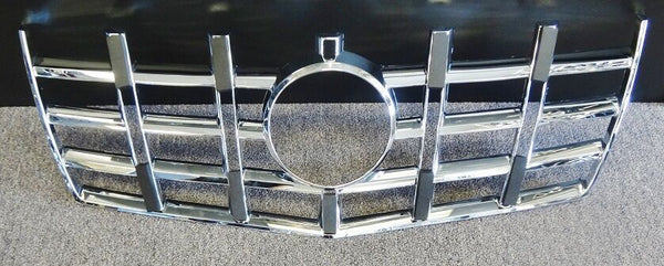 2012-2013 CADILLAC CTS 1 PIECE CHROME UPPER GRILLE OVERLAY