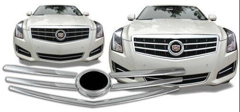 2013-2015 CADILLAC ATS CHROME GRILLE OVERLAY INSERTS
