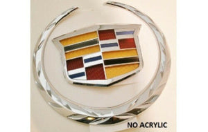 CTS Sedan Grille Wreath and Crest Chrome 2014-2015