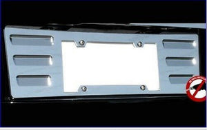 2007-2014 CADILLAC ESCALADE  CHROME ABS LICENSE PLATE BEZEL PANEL