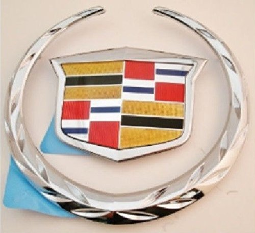 CTS V Sport Rear Wreath and Crest Chrome 2014-2015