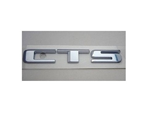 CTS V Series Emblem Satin Chrome 2016-2019