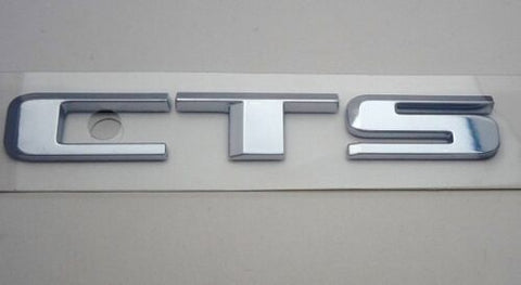 CTS Emblem Satin Chrome 2016-2019