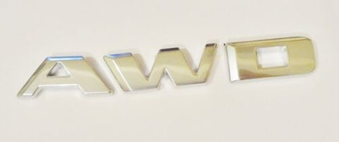 CT6 AWD Emblem Satin Chrome 2016-2020