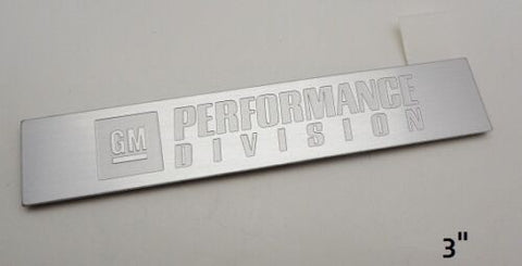 Copy of XLR V GM PERFORMANCE LARGE SIZE EMBLEM