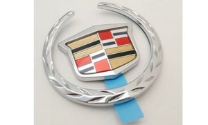 XLR CHROME REAR BRAKELIGHT WREATH AND CREST EMBLEM 2004-2009