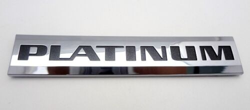 XLR CHROME PLATINUM EDITION EMBLEM