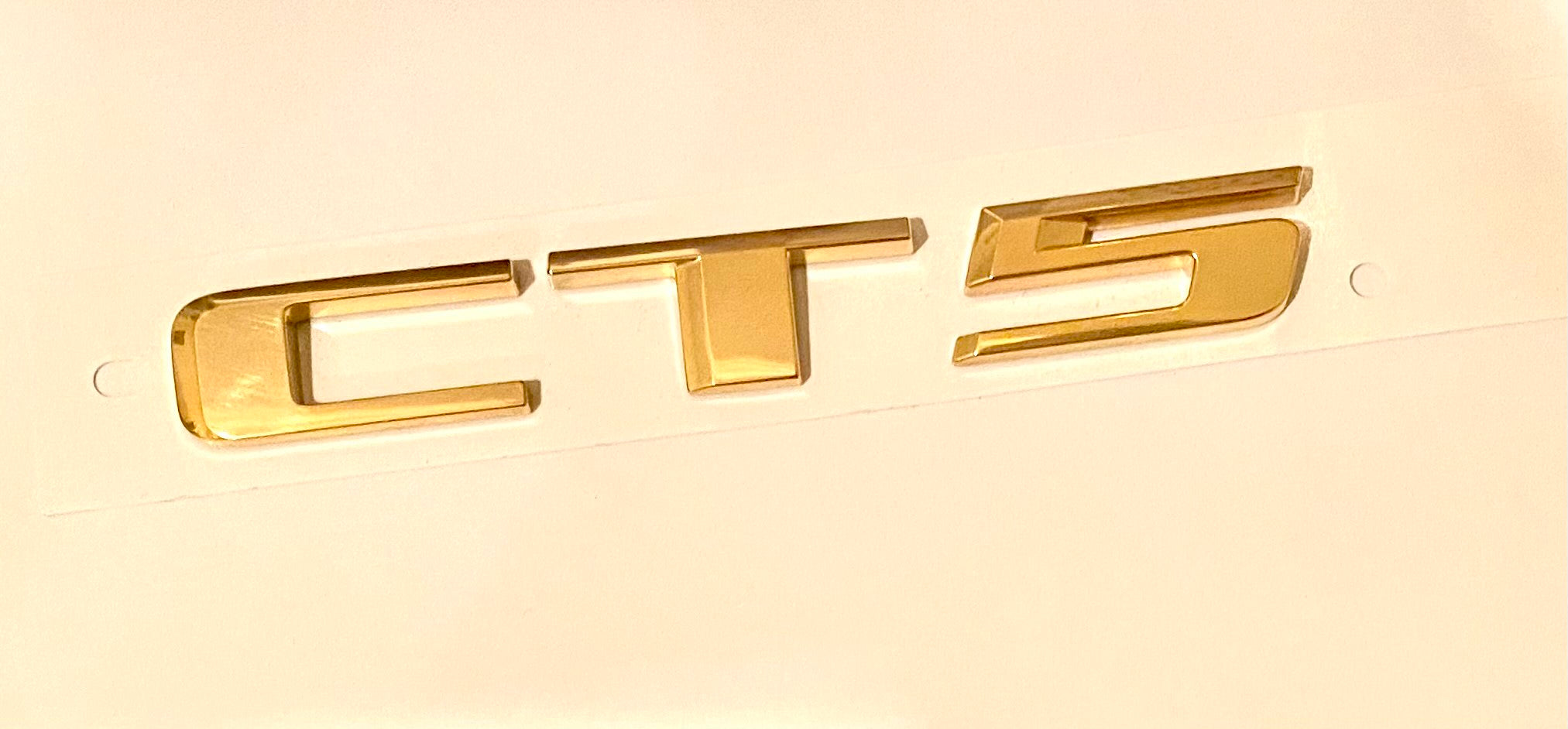CT5 Emblem 24k Gold Plated