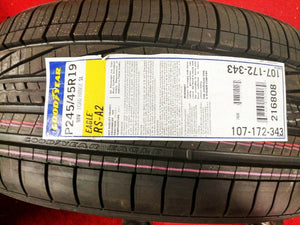 PIRELLI PZERO 255-40R19 96Y SET OF 4 TIRES
