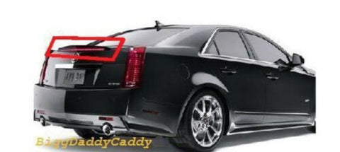 CTS TOURING CTS V REAR HIGH MOUNT SPOILER BRAKELIGHT 2009-2013