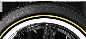 VOGUE TYRE 235-50R17 WHITE AND GOLD SET OF 4 TIRES