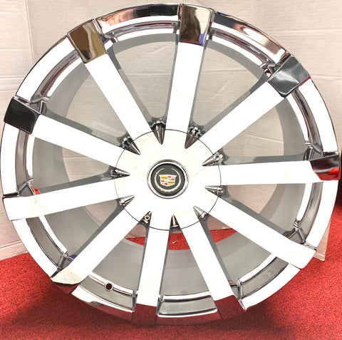 "XT4 CTS XTS CT6 CHROME 20"" X 8.5"" FACTORY STYLE SET OF 4 WHEELS"