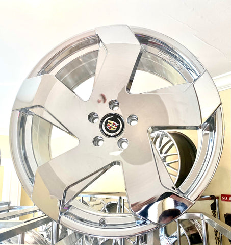 "SABRE CHROME 20"" X 8.5"" SET OF 4 WHEELS"