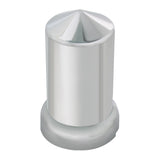 Chrome Plastic Push-On Lug Nut Covers