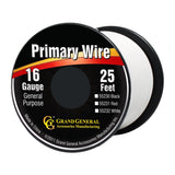16 GA Primary Wire, 25ft Roll W/Spool