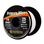 14 GA Primary Wire, 25ft Roll W/Spool