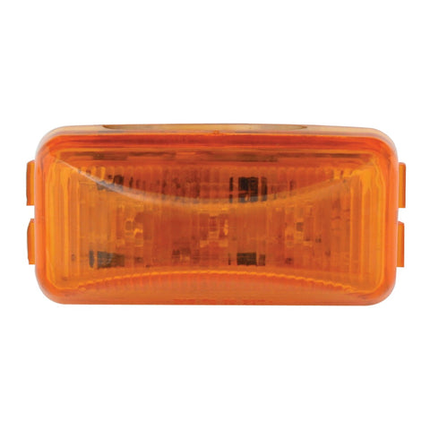 Small RECT. Amber 3-LED Sealed Light