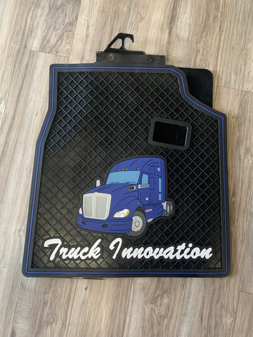 Kenworth T680 Truck Mats Blue Set