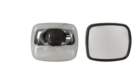 Freightliner M2 Chrome Wide Angle Mirror With Heater
