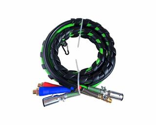 "3 In One rubber Air Hose Electrical Cable wrap 15"" air"