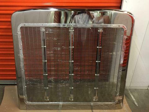 Peterbilt 379 Short Hood Grill Completed
