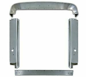 Peterbilt 379 Short Hood Grill Surround Stainless Steel